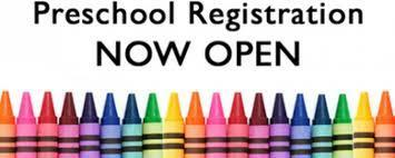 Pre-Registration for 21-22 Preschool Now Open